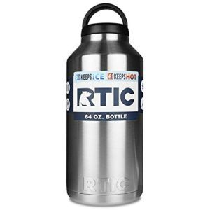 Rtic Stainless Double Wall Vacuum Insulated Growler Stainless Steel Bottle Stainless Steel Growler Bottle