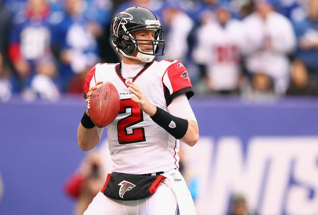 Breaking Down the NFL's Top QB-WR Duos for 2012 - 10. Matt Ryan to Roddy White    Roddy White had the quietest 100-catch season in NFL history, but there is no doubting that White is an elite wide receiver. He led the NFC in catches last year, totaling over 1,200 yards receiving. 2011 stats: 100 catches, 1,296 yards, eight touchdowns