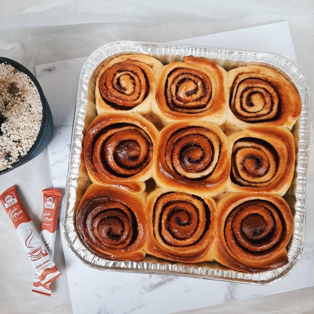 Resep Cinnamon Roll C 2020 Brilio Net In 2021 Cinnamon Rolls No Bake Cake Food Receipes