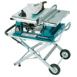 The Makita 2705x1 10 Inch Contractor Table Saw With Stand Is A Versatile And Powerful Table Saw For Use In The Shop Best Table Saw Table Saw Portable Table Saw