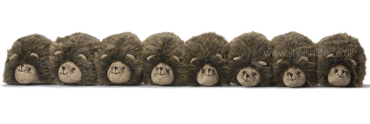 hedgehogs in a row draught excluder but could do guards. Black Bedroom Furniture Sets. Home Design Ideas