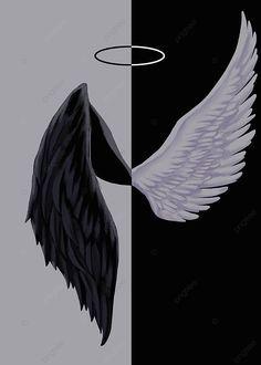 Angel Devil Wings Background