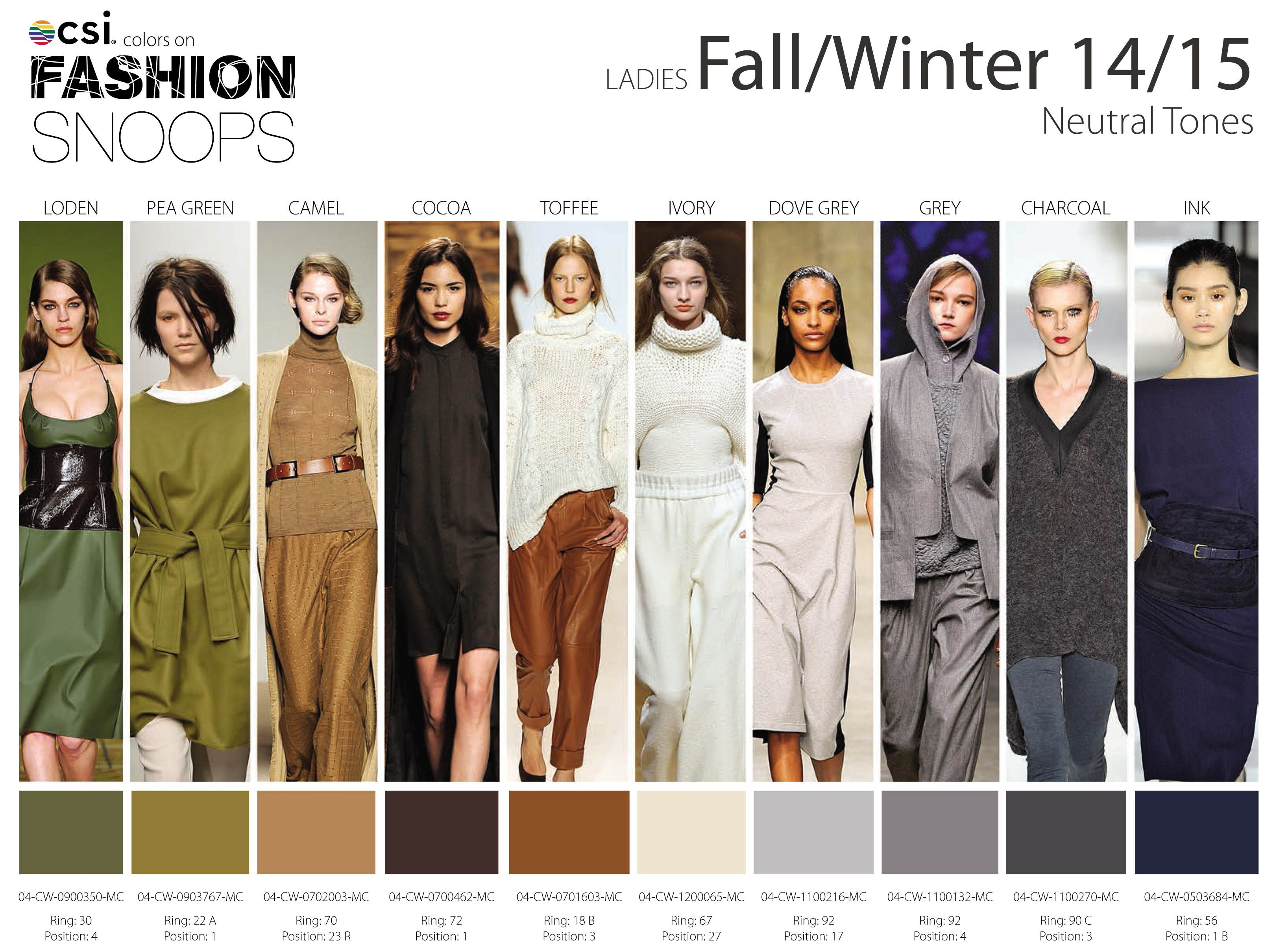 Fall/Winter 2014/2015 Runway Color Trends | FALL TRENDS