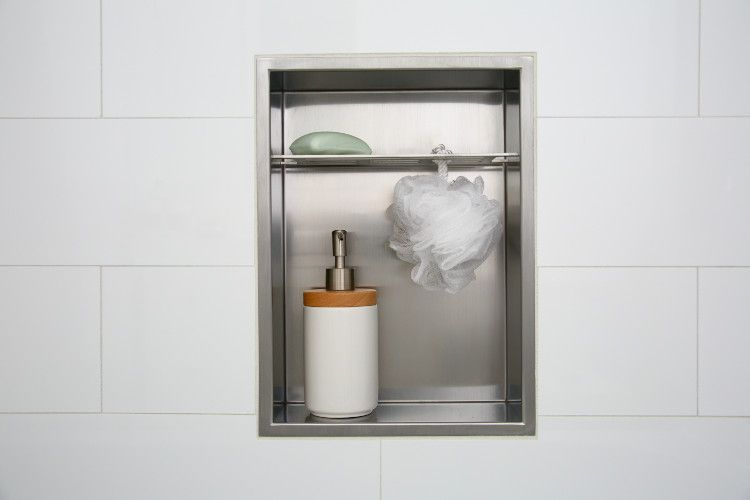 Superbe A Unique And Attractive Stainless Steel Shower Niche From Redblock  Industries. Create A Bold Statement In Your Shower Surround By Installing  This Beautiful ...