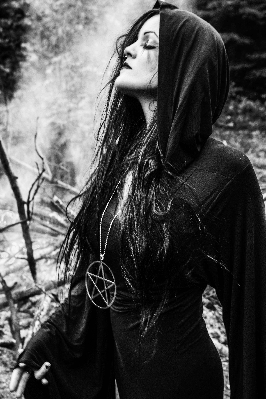 : she has the moon for a crest : and it is blazoned on her heart : she walks cursed in silver :  | Henriette Bordvik | Photo Baard Ferdamar | #magick #ritual #bonfire #chaosmagick #chaoswitch #modernwitch #witch #hex #häxan #occult #chaos #kaos #wicca #pagan #nature #solitude #witchcraft #norwegian #villvette #henriettebordvik #killstar @killstarco