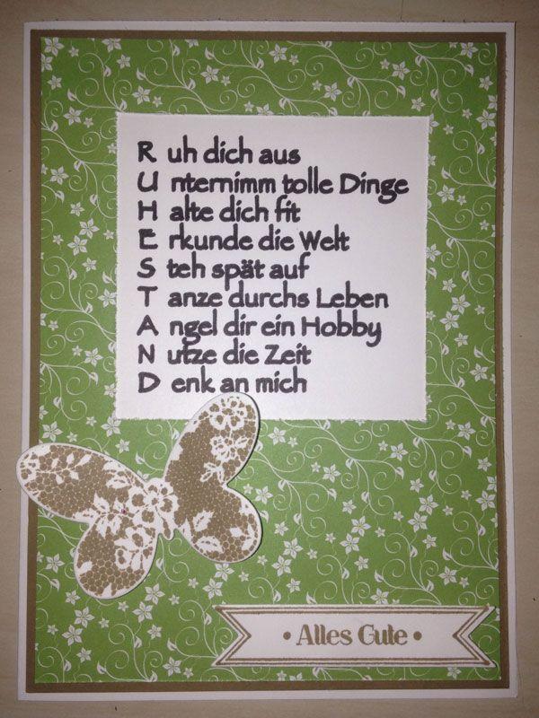 Spruche fur ruhestand lustige sprche und witzige zitate for Geschenk fur ruhestand