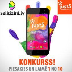Gribi jaunu telefonu Just5 Spacer? Piedalies konkursā! http://www.salidzini.lv/konkurss/864f33c0