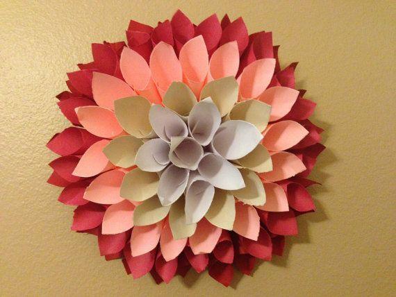 How To Make A Paper Dahlia Wreath By Yourself Dastkari Pk The