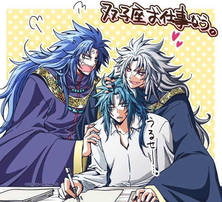 Saga e Kanon de Gêmeos Cavaleiros do zodiaco anime, Cdz