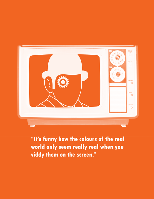 a clockwork orange | Lovely <3 | Movie quotes, Cult movies