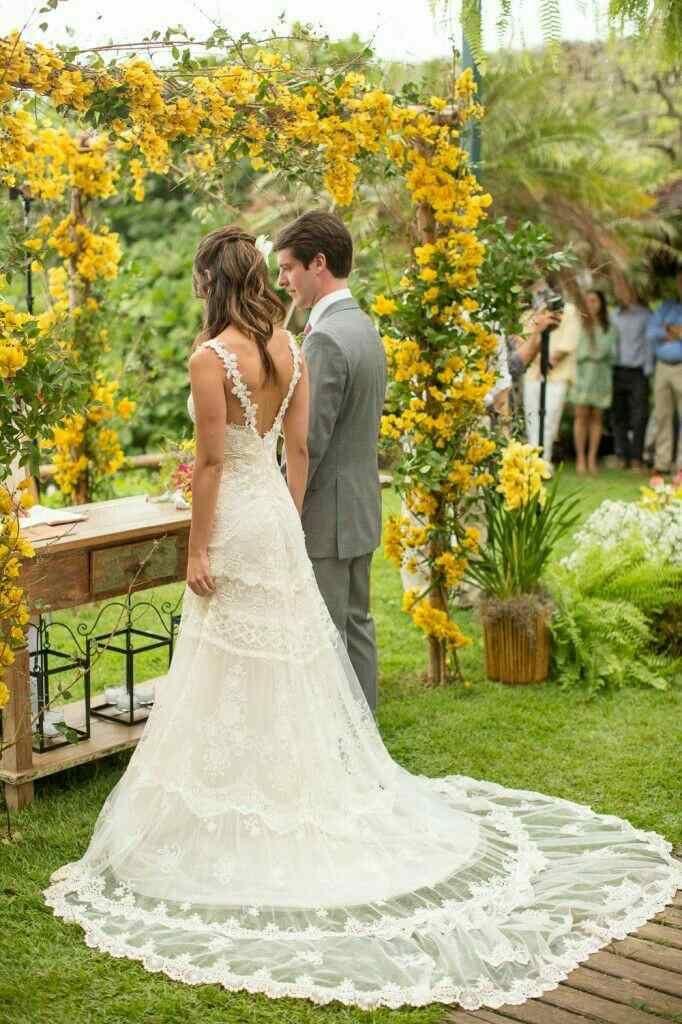 Inspiração Vestido De Noiva 3 Vestido Casamento Campo