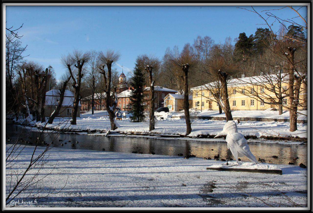 Fiskars Village In February 2018 Fiskars