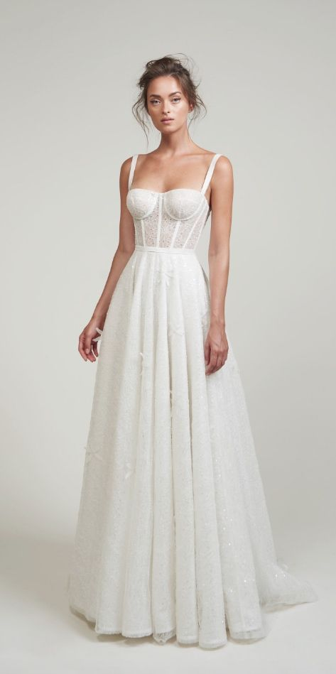 Photo of Courtesy of LIHI HOD Wedding Dresses; www.lihihod.com