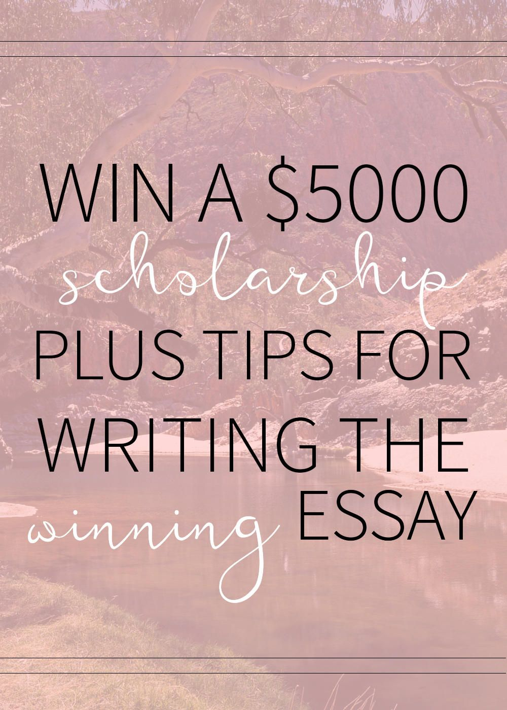 College scholarships essay help tips