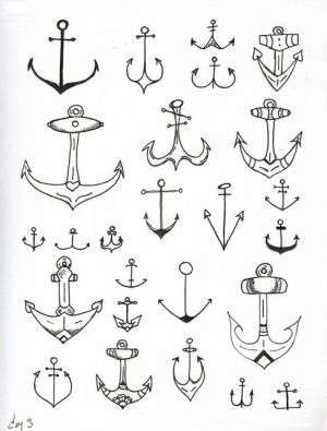 anchors by GwenDy