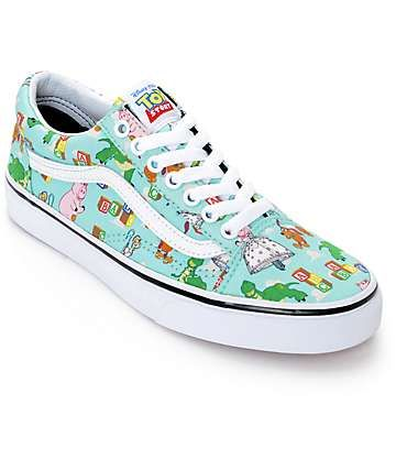 Toy Story x Vans Old Skool Andy's Room Shoes (Womens) | Vans