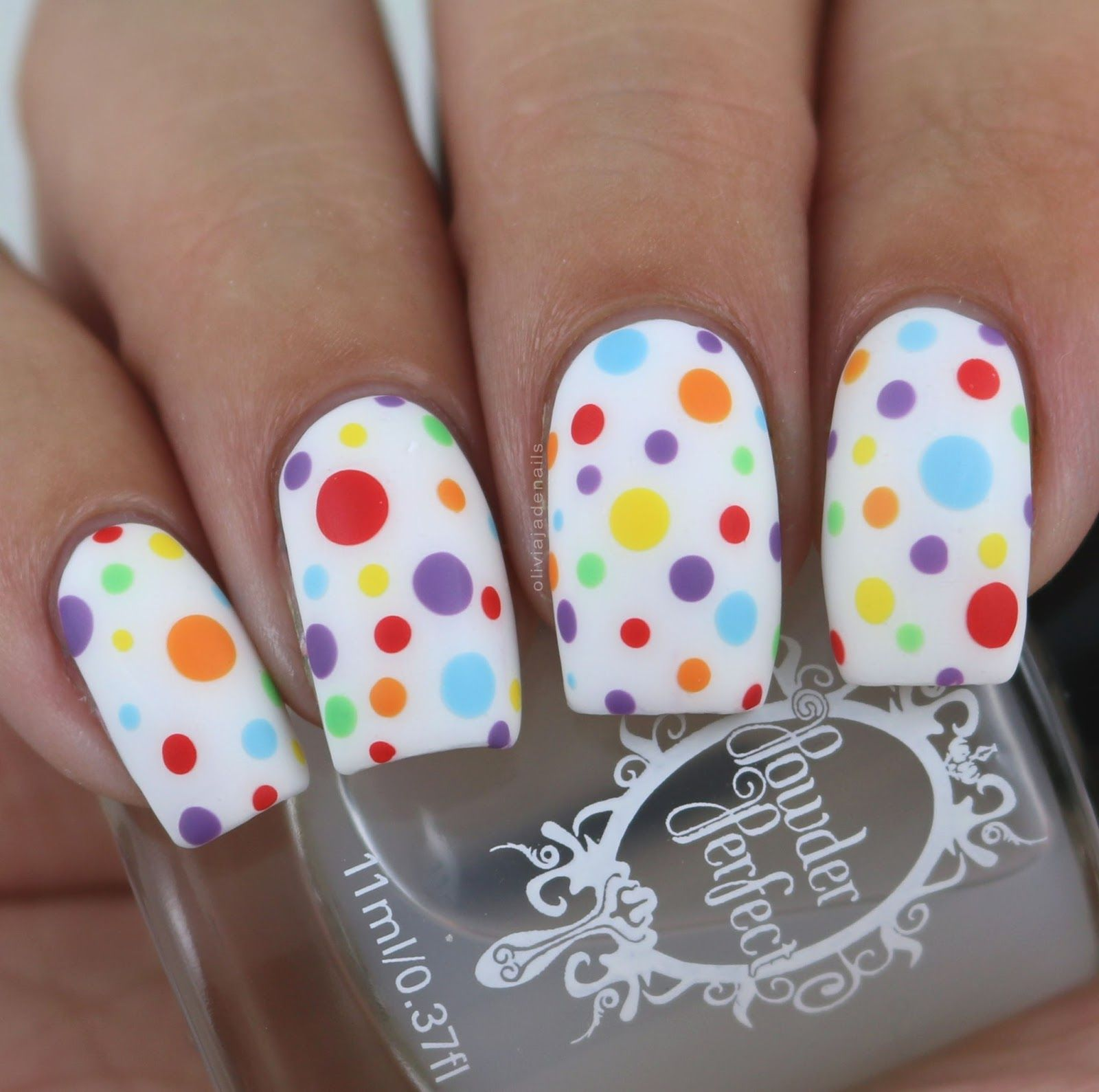 Nail Crazies Unite Rainbow by Olivia Jade Nails  My Nails