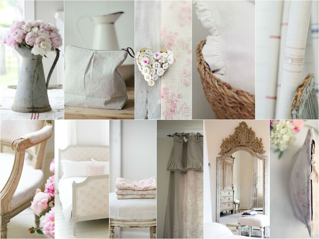 Peony and Sage Linens www.peonyandsage.com Mirror and Curtain image via pinterest