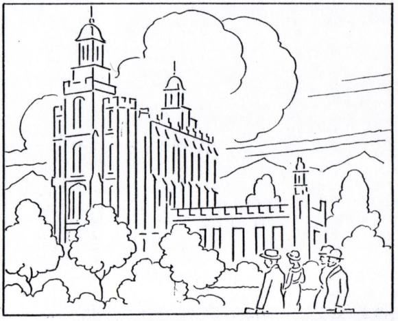 The Logan Temple Logan Temple Free Coloring Pages Coloring Pages