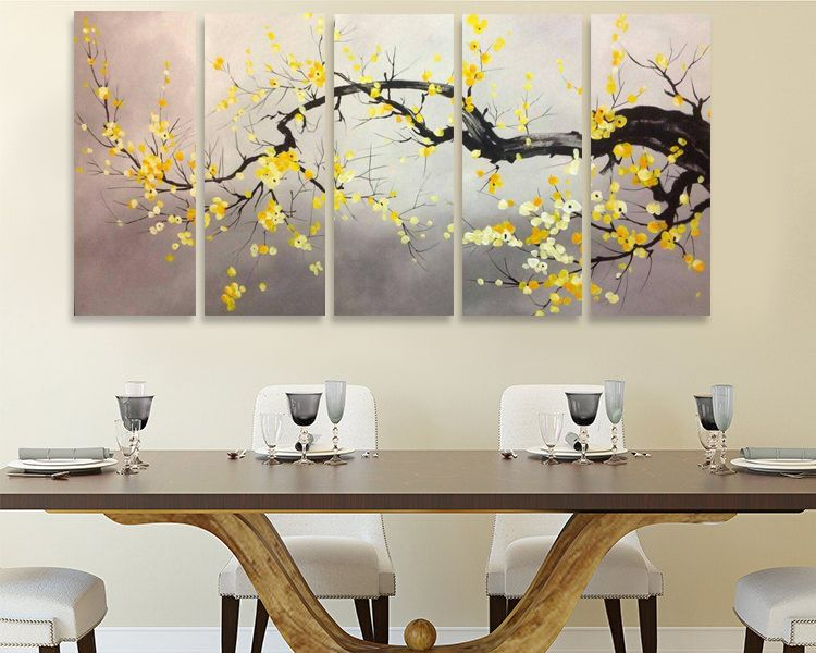 Famous Cherry Blossom Tree Painting Www Royalthaiart Com Free Fast Shipping Within Thailand W Tree Painting Mural Painting Decorative Painting Techniques