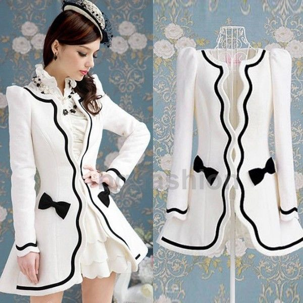 Women's Wedding Tailored Long Jacket