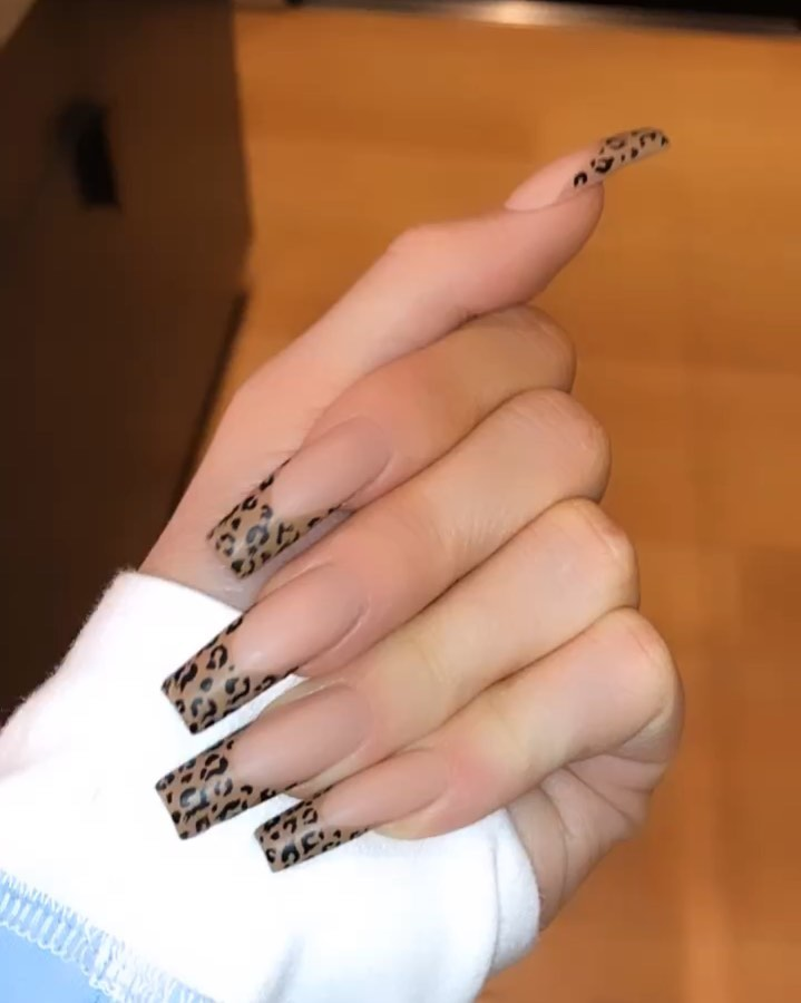 """Kylie � on Instagram: """"leopard french �"""""""