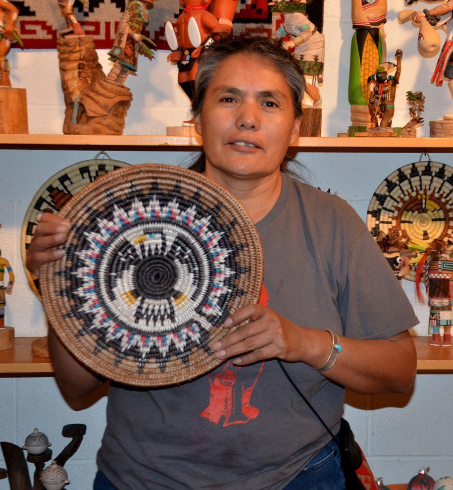Navajo eagle basket by sally black pinterest