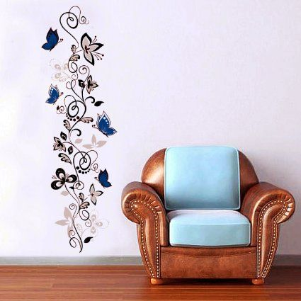 Robot Check Wall Stickers Living Room Butterfly Wall Stickers Wall Stickers Home Decor