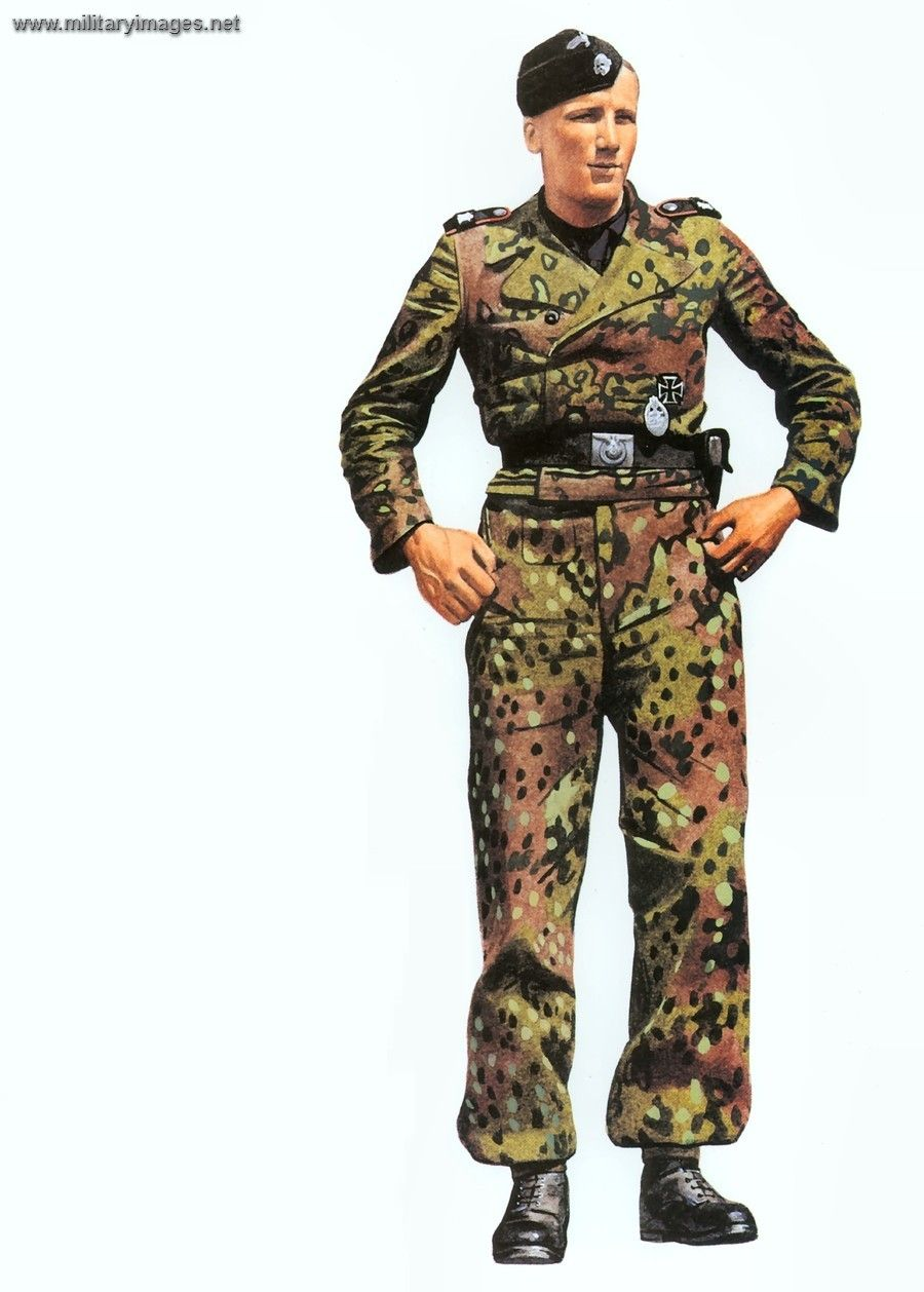 waffen ss camo painting guide