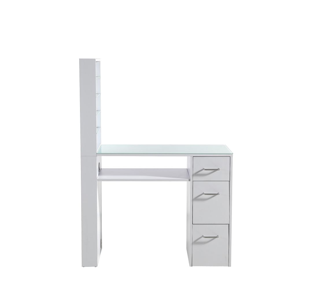 Lucille Manicure Table In White
