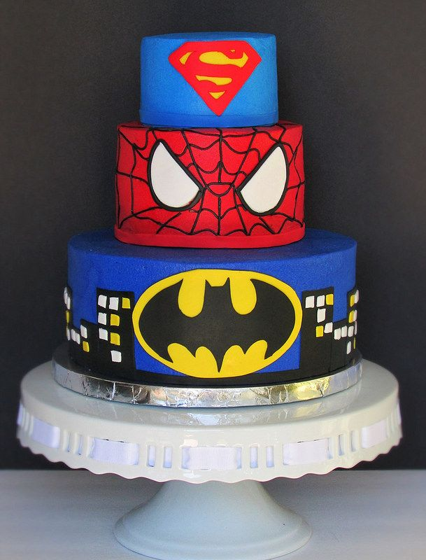 Image result for superhero cake pictures