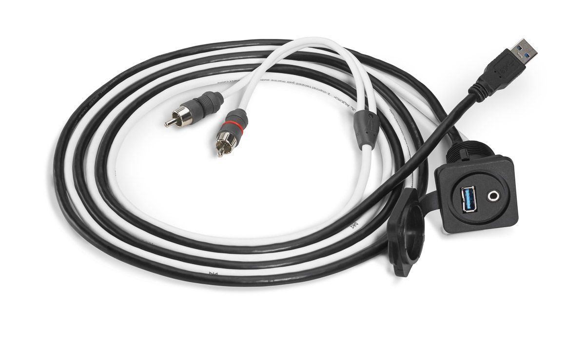 Cable rca con entrada aux y usb 1 83m cableusbcar audiohtmlproducts