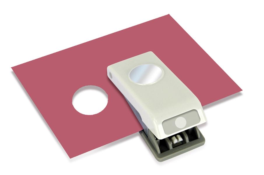 Ek Success Ek Tools Medium Punch 1 Inch Circle Paper Punch Circle Punch Paper Shaper