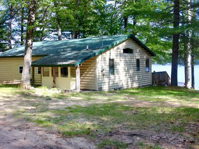 Quaint lakefront cabin overlooking Lake Marjory in a peaceful quiet neighborhood. Located just off of I-75 and only 15 minutes from downtown Gaylord. This cabin is an ideal vacation spot. See the best of northern ...
