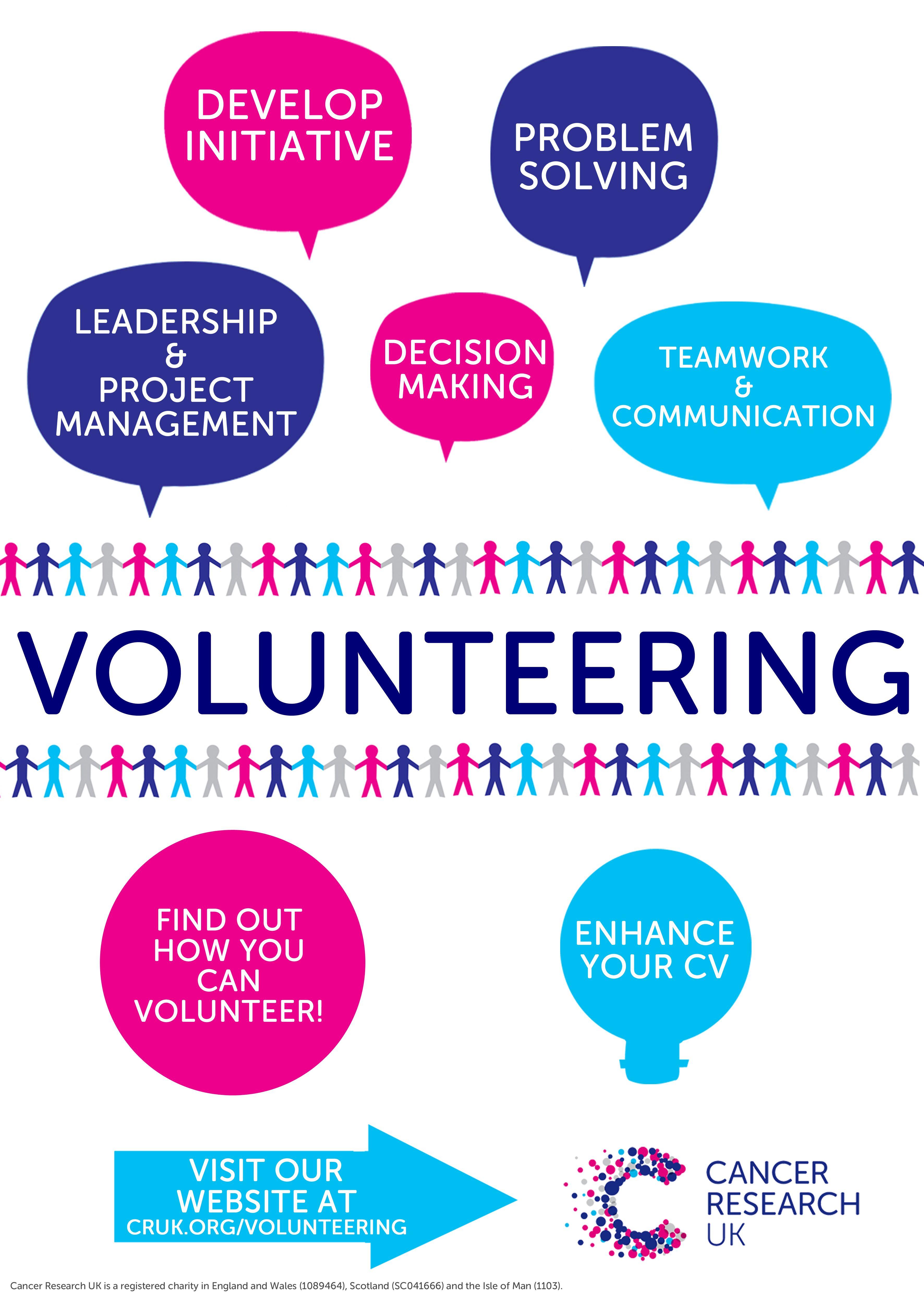 Poster design volunteer - Volunteering Recruitment Posters