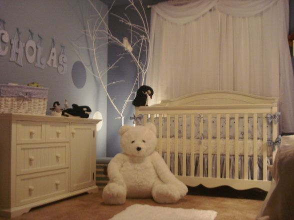 What A Cute Theme The North Pole Baby Boy Nurseries
