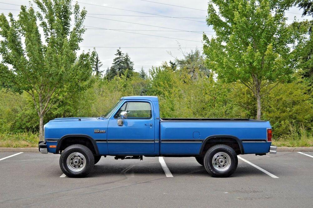 1991 Dodge Ram 2500 Dodge Ram W250 3500 4x4 Diesel 12 Valve Other Dodge Ram Dodge Ram 2500 Dodge