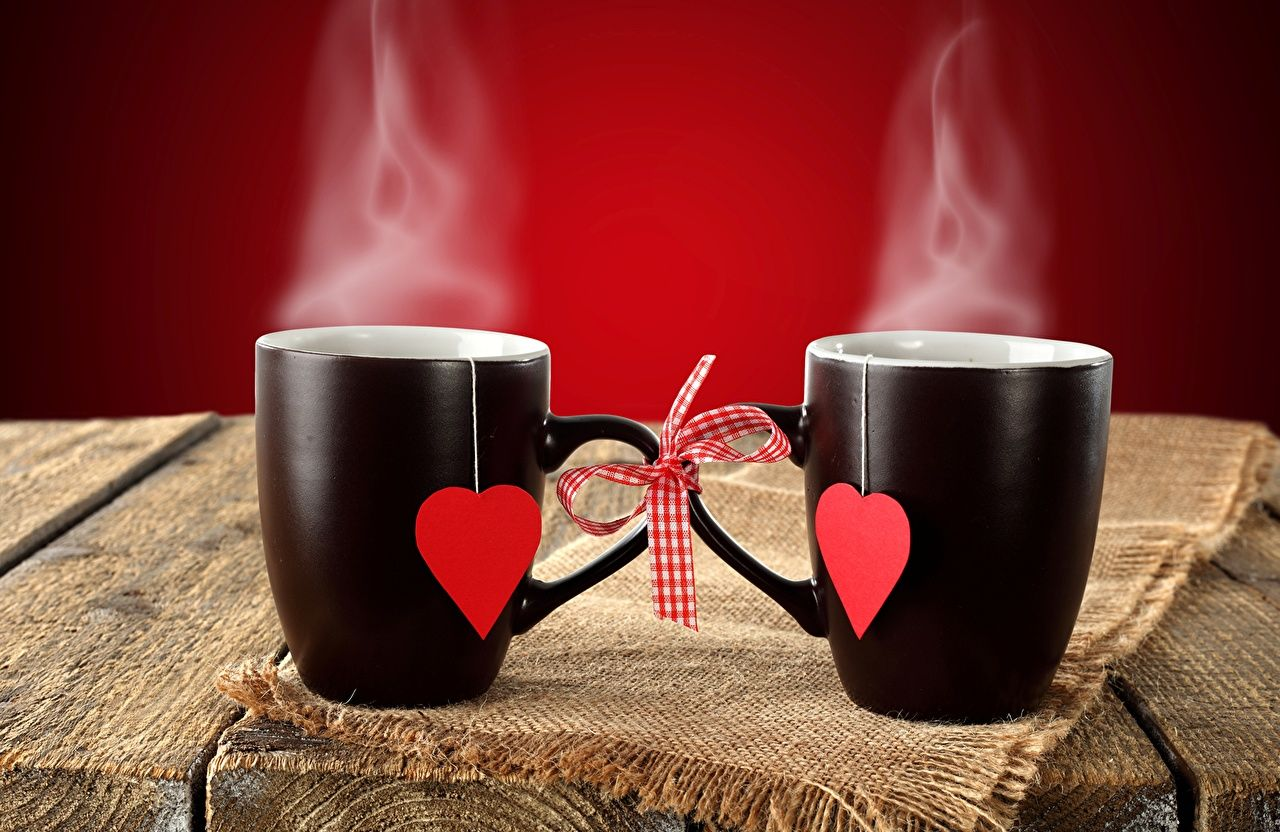чай горячий поцелуй