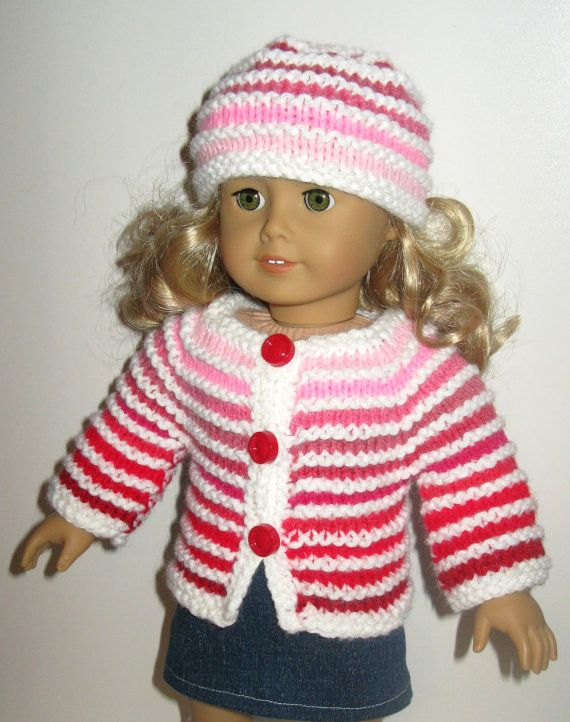 Valentine\'s OMBRE Destash 18 inch American Girl AG doll sweater set ...