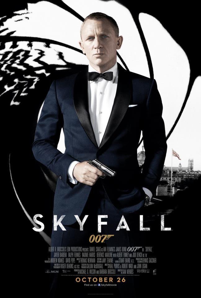 Skyfall B Free James Bond Movie Posters James Bond Skyfall