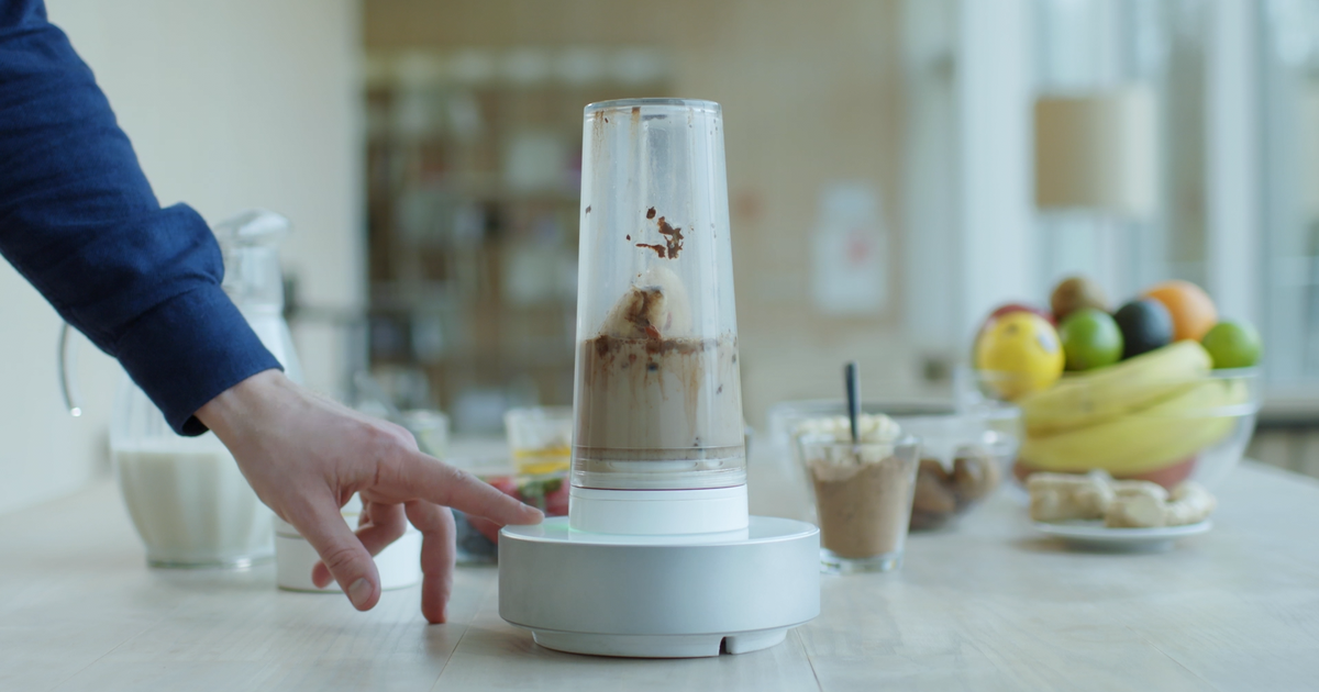 The blender from the future is here. | Smoothie blender, Morning smoothie,  Blender