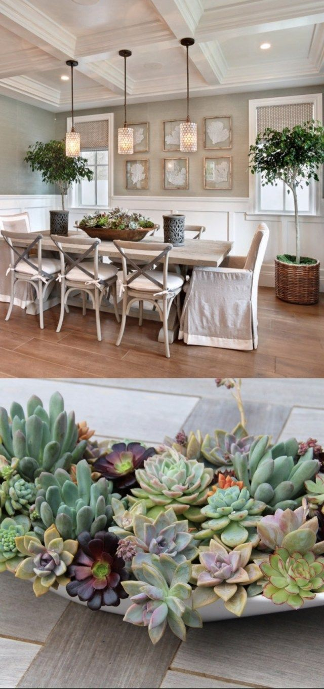 30+ Dining Table Centerpiece Ideas (A Guide To Decorate Dining Table) images