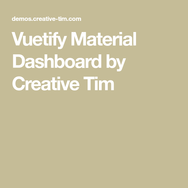 Vuetify Material Dashboard by | Webデザイン | Creative