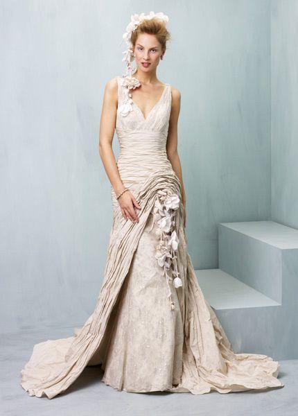 Show stopping wedding dresses from award winning designer Ian Stuart ...