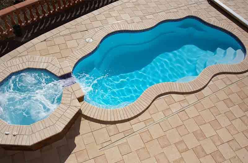 Fiberglass pool 2016 bermuda model viking pools in