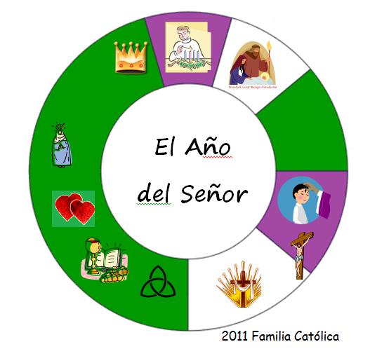 Familia Católica: Páginas para colorear para las principales fiestas ...