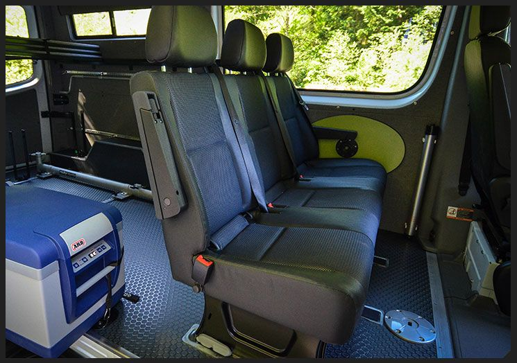 Factory Bench Seats For Mercedes Sprinter Van Conversions Mercedes Sprinter Sprinter Van Conversion Sprinter Conversion