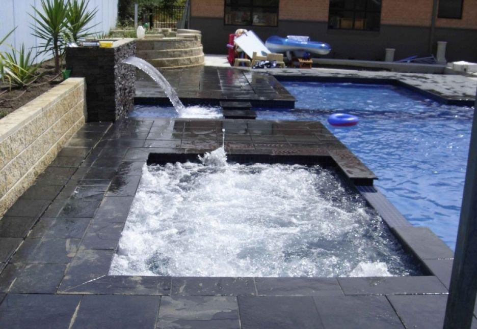 Charcoal Grey Pool Coping Cool Pool In 2019 Pool