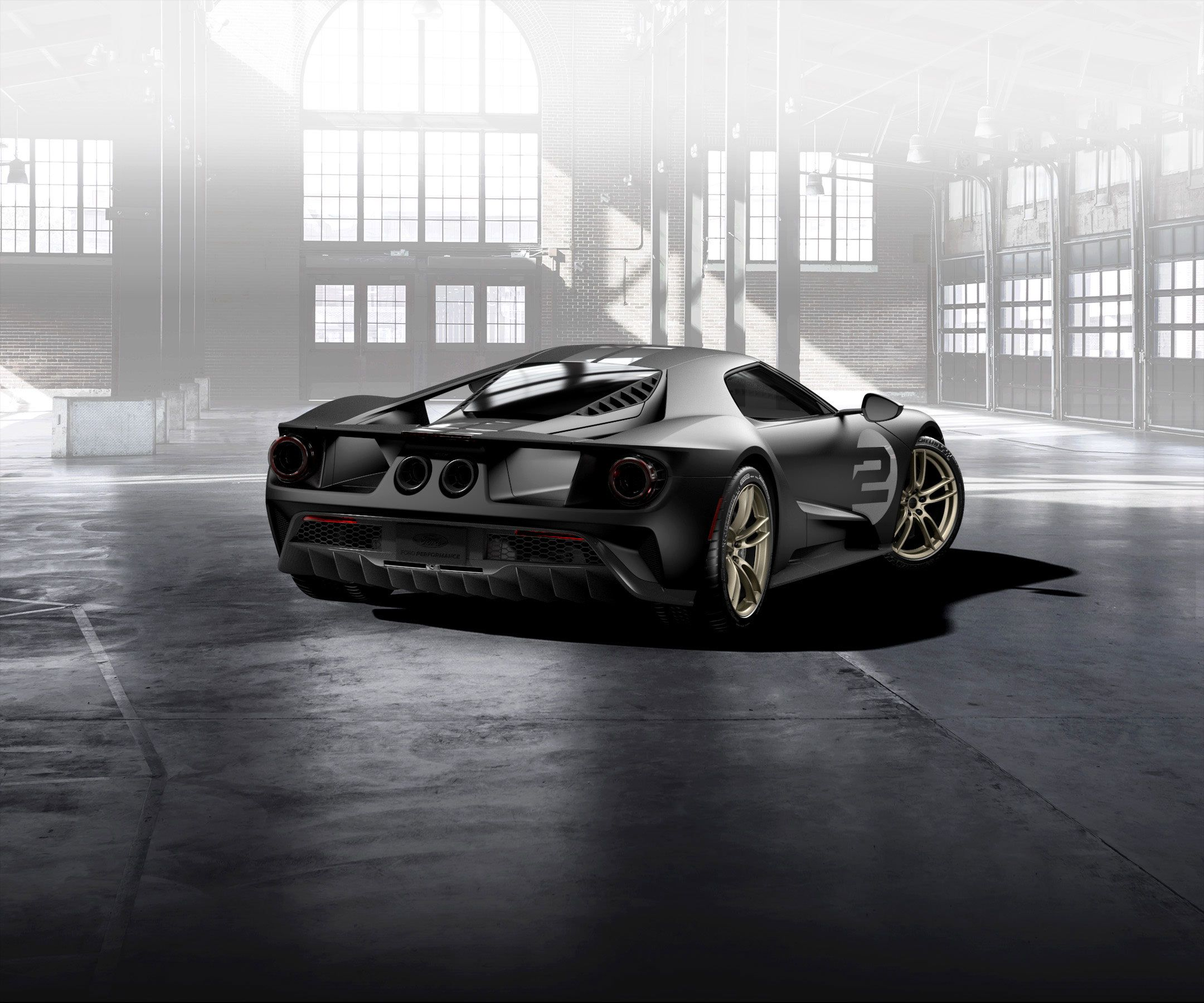 Ford Introduces  Heritage Edition  Gt Ford Gt Forum
