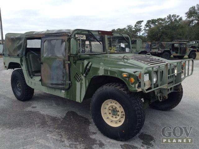 Surplus 1989 AM General M998 Humvee HMMWV in Starke, Florida, United States (GovPlanet Item #553997)